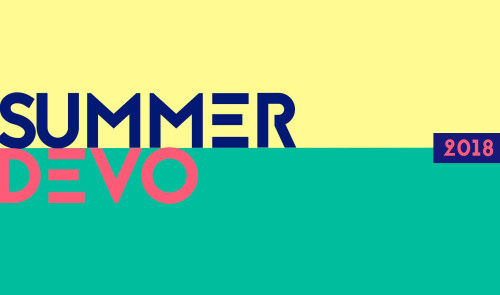 2018 Summer Devo