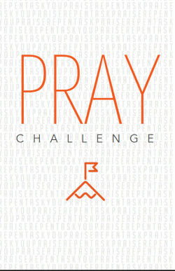 RUSH PRAY Challenge Booklet